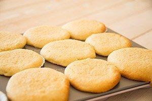 gebackene Cupcakes