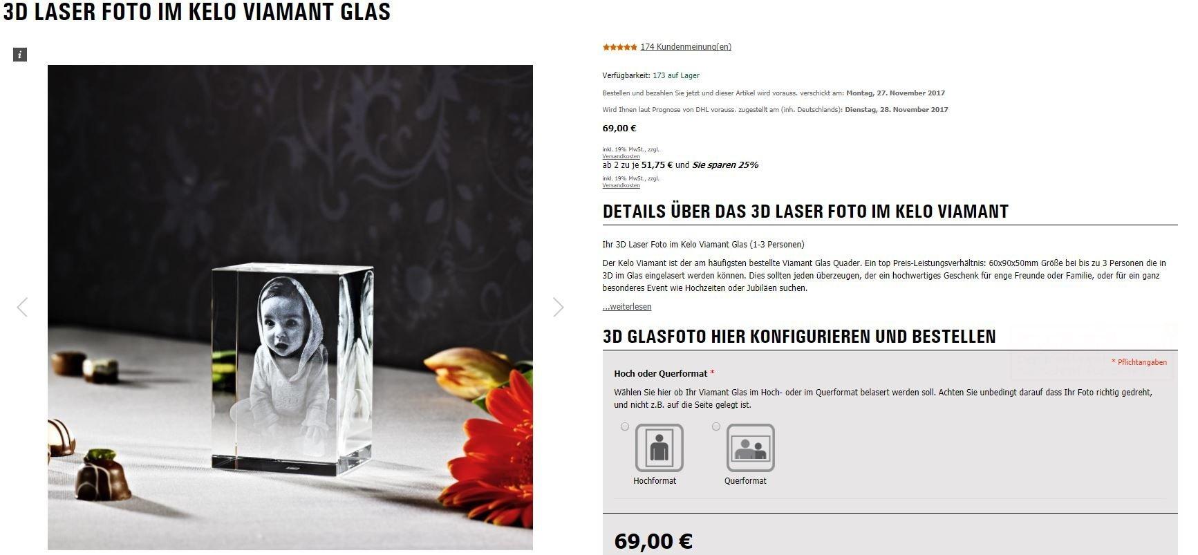 Lieferung Ihres Fotogeschenks püntklich zu Weihnachten LOOXIS GmbH