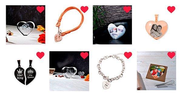 Herz Fotogeschenke zum Muttertag LOOXIS GmbH