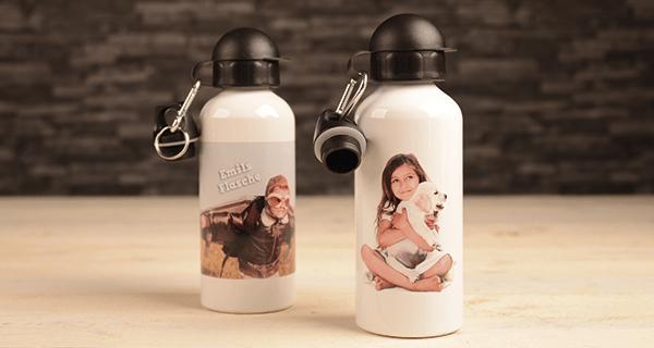 Personalisierte Trinkflasche mit Foto von LOOXIS