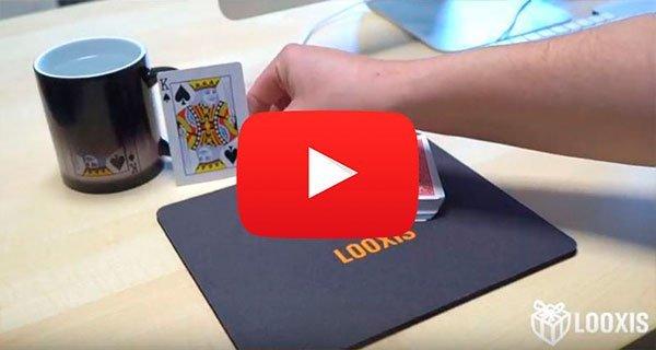 LOOXIS Zaubertrick-Video: Die magische Fototasse