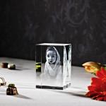 3D Laser Foto im Kelo Viamant Glas