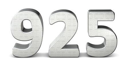 925 Sterling Silber
