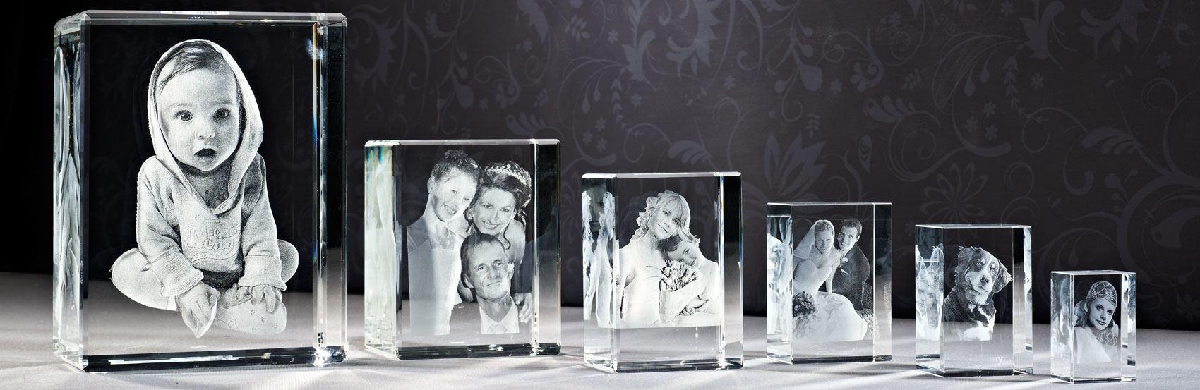 Ihr schönstes Foto in Glas gelasert