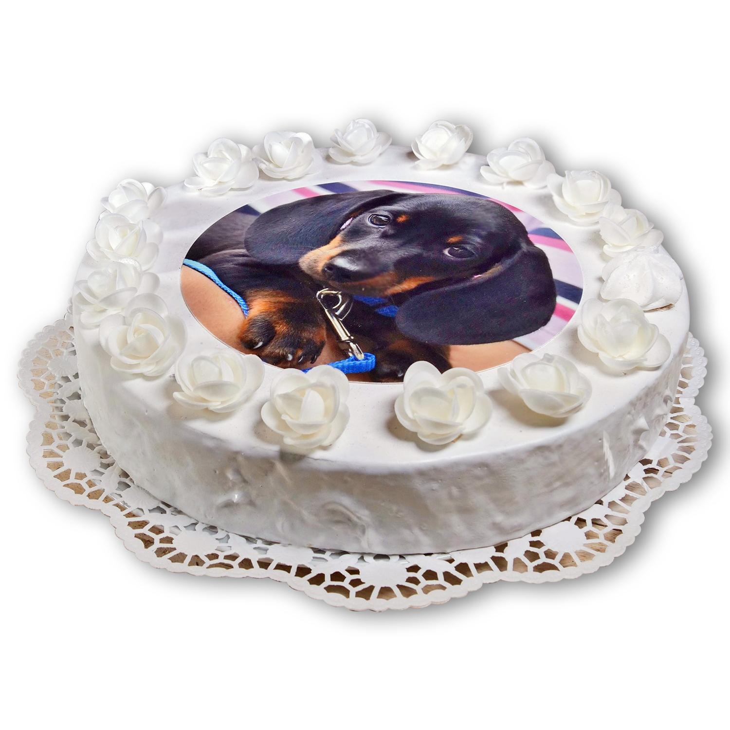 Edible Photo Topper, circular, 20cm Diameter