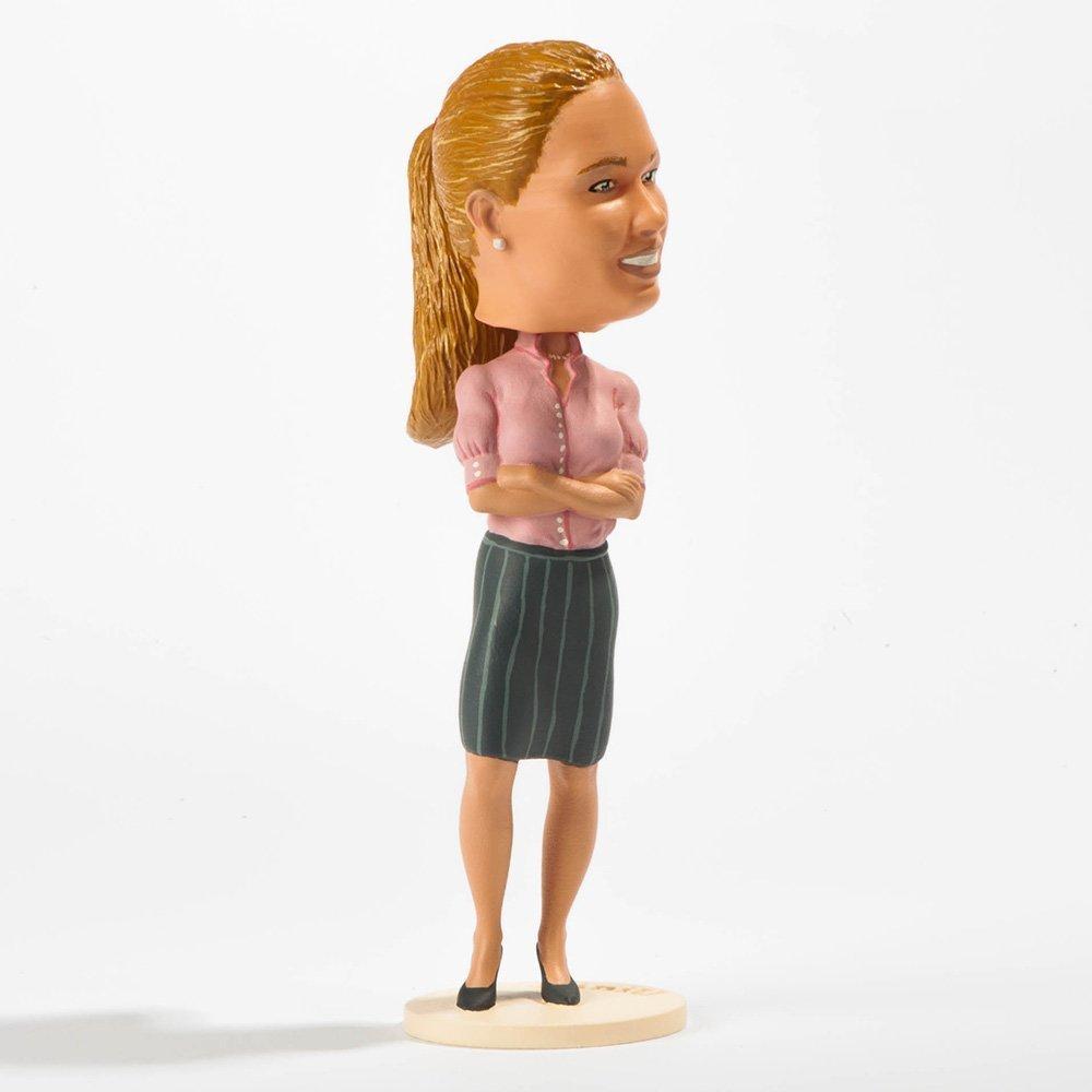 Ihr Ebenbild als 3D gedruckte Figur Birga Büro