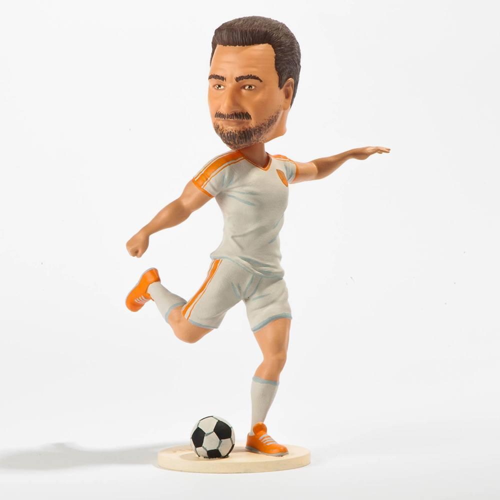 Ihr Ebenbild als 3D gedruckte Figur Franz Fußball