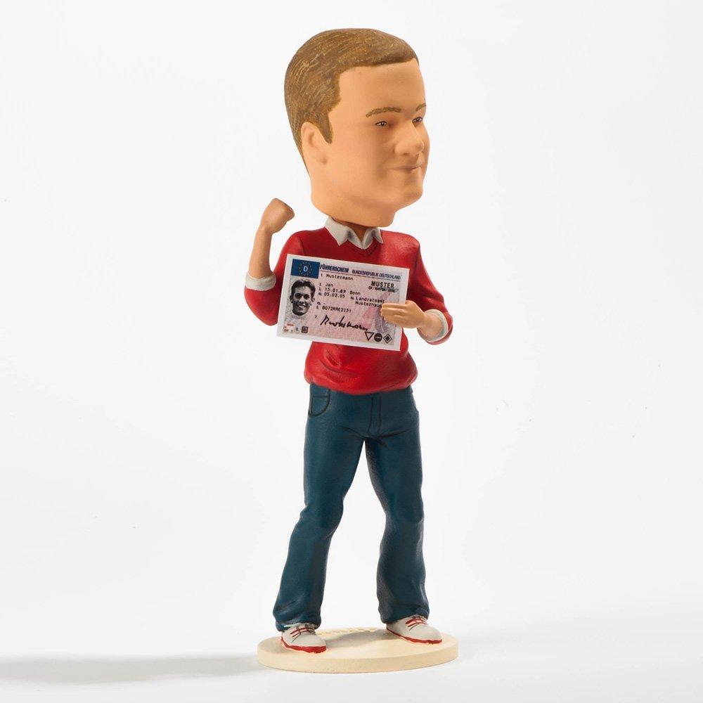 Ihr Ebenbild als 3D gedruckte Figur Volker Volltreffer