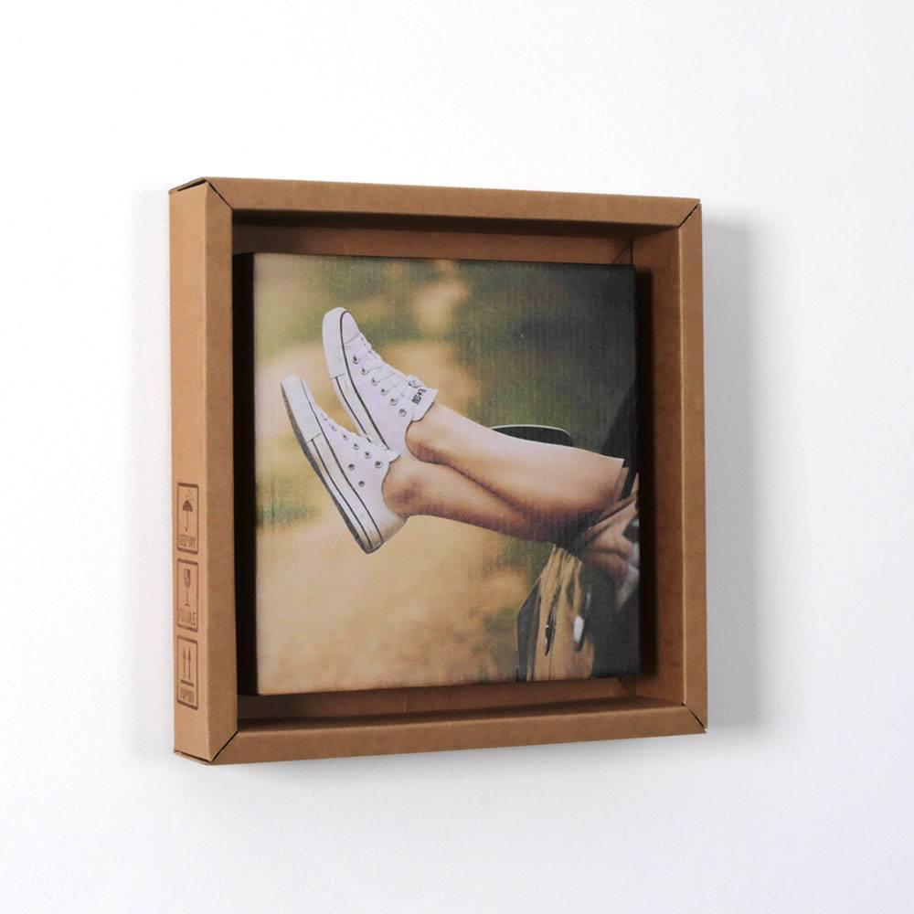 Bilderrahmen aus Pappe 1er | stylisch und recycelt » Looxis.de