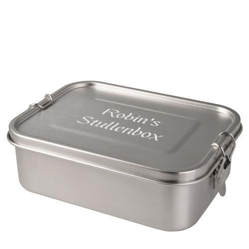 personalisierte Lunchbox aus Edelstahl (1200ml)