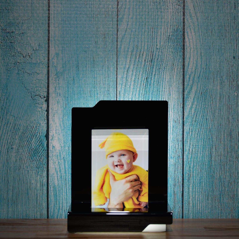 Beleuchtungselement Opera Cadenza für das Glasfoto in Farbe 7,5x11 cm Hochformat