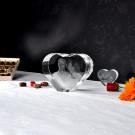 XXL Herz mit 3D Laser Foto im Größenvergleich zum normalen Herz