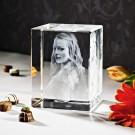 3D Laser Foto im Giga Viamant Glas