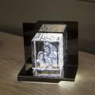 Opera Beleuchtungselement Capriccio für den Giga im Hochformat - Das 3D Laser Foto im Giga Viamant Glas ist nicht im Lieferumfang enthalten