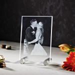 Laser Foto im Viamant Flachglas klein