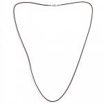 Leder Halsband, braun, 80 cm lang, 2 mm dick
