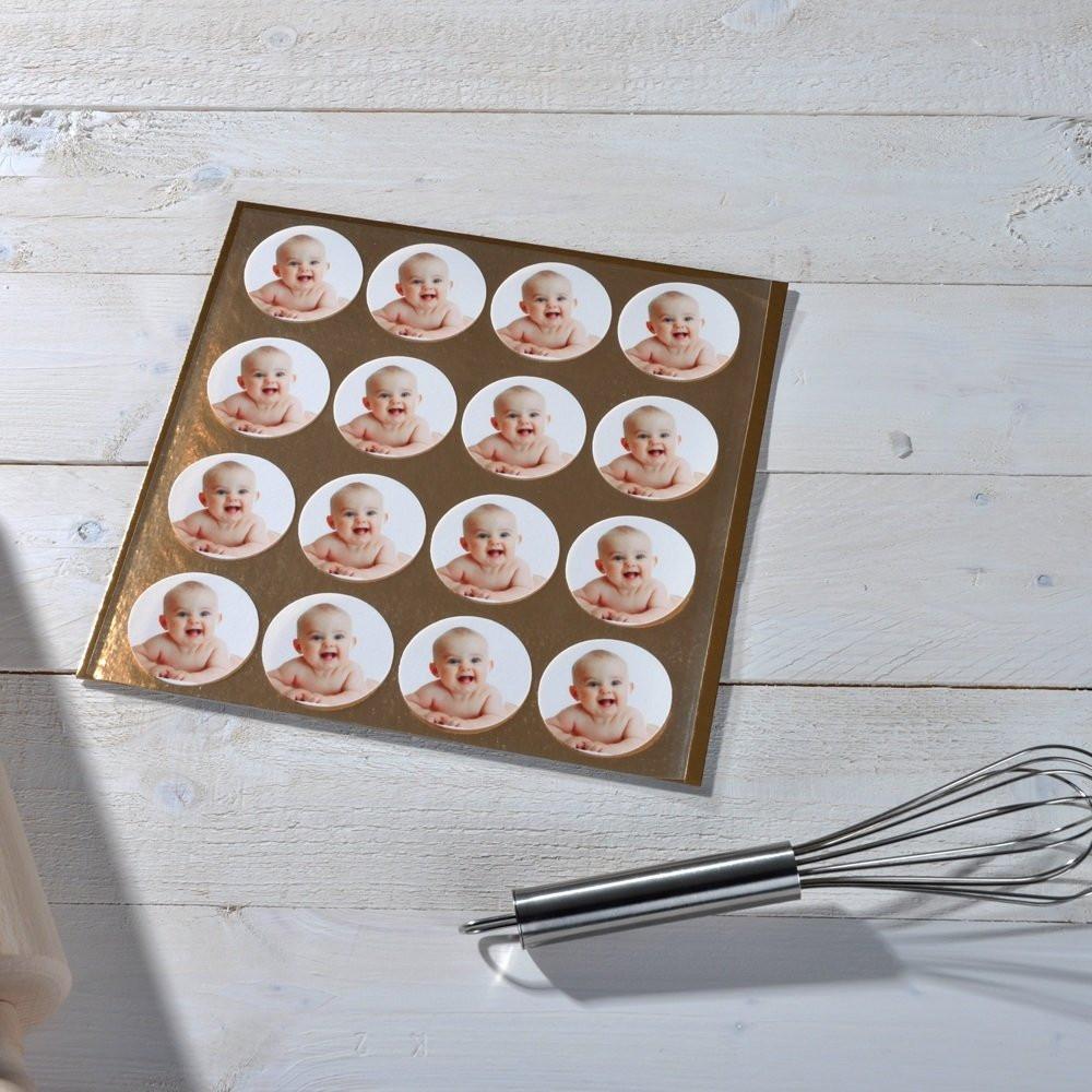 Fototortenaufleger für Muffins
