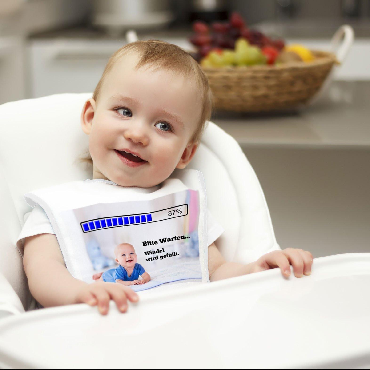 Baby Lätzchen mit Foto