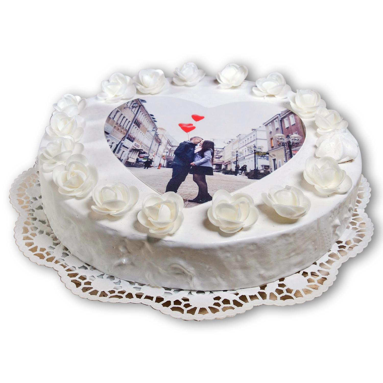 Tortenfoto / Essbares Foto auf Torte