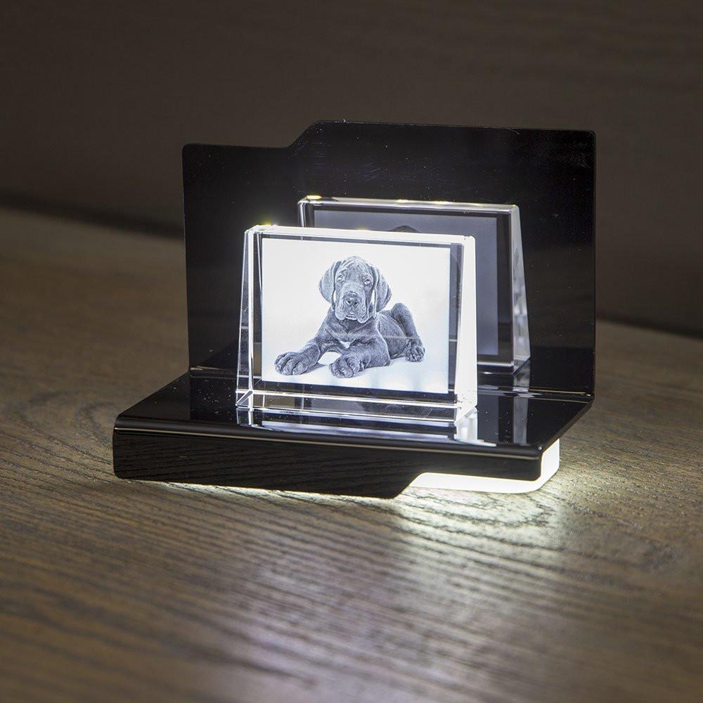 Opera Beleuchtungselement Arpeggio für das 2D Prisma S im Querformat - Das 2D Prisma ist nicht im Lieferumfang enthalten