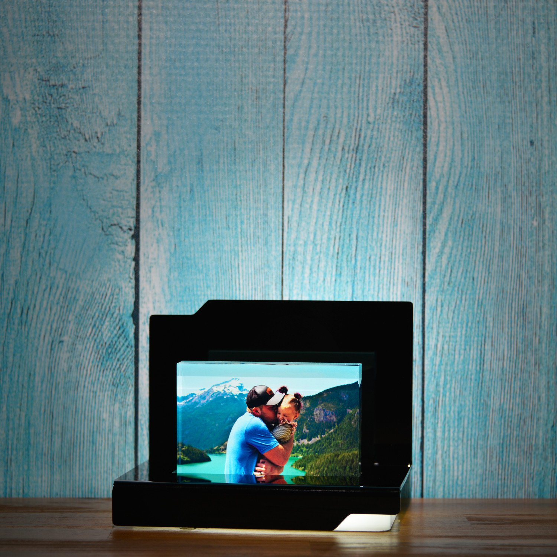 Beleuchtungselement Opera Cavatina für das Glasfoto in Farbe