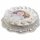 Edible Photo Topper, Circular, 18cm Diameter