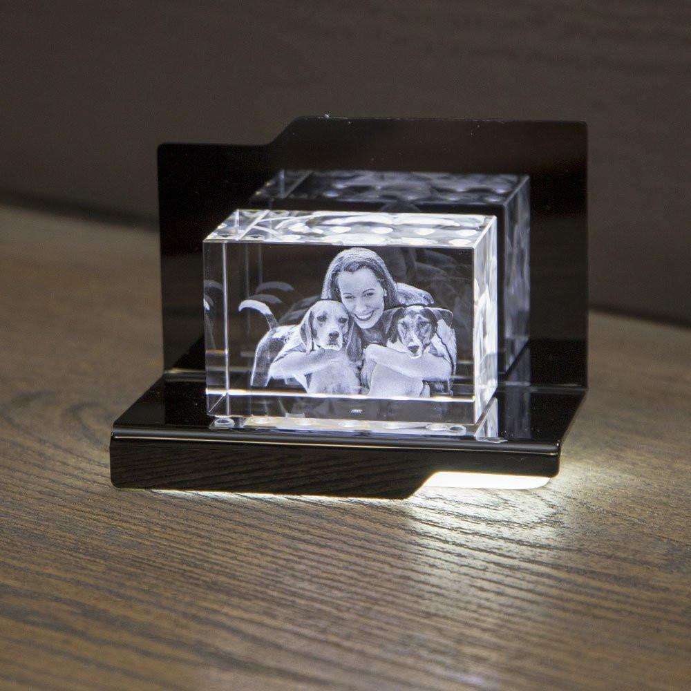 Opera Beleuchtungselement Arpeggio für den Kelo im Querformat - Das 3D Laser Foto im Kelo Viamant Glas ist nicht im Lieferumfang enthalten