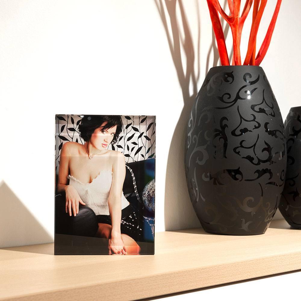 Individuellfotogeschenke - Ihr Foto ganz edel hinter echtes Viamant Glas gedruckt, Größe Diciotto 18 x 13cm - Onlineshop Looxis