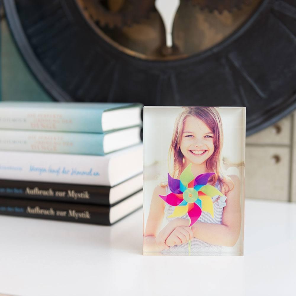 Individuellfotogeschenke - Ihr Foto ganz edel hinter echtes Viamant Glas gedruckt, Größe Quindici 15 x 10cm - Onlineshop Looxis