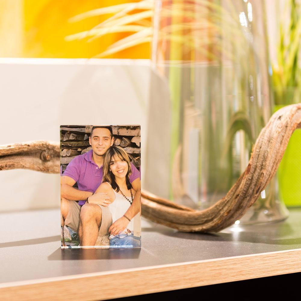 Individuellfotogeschenke - Ihr Foto ganz edel hinter echtes Viamant Glas gedruckt, Größe Undici 11,5 x 7,5cm - Onlineshop Looxis