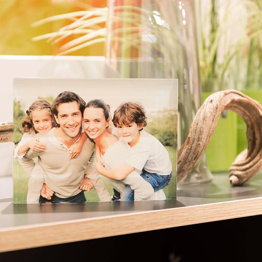 Individuellfotogeschenke - Ihr Foto ganz edel hinter echtes Viamant Glas gedruckt, Größe Venti 20 x 15cm - Onlineshop Looxis