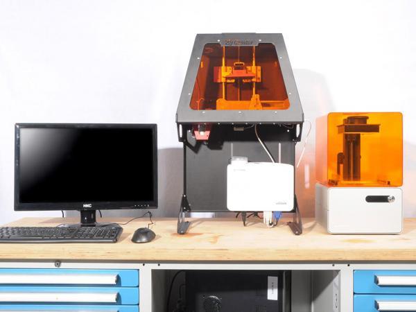 wir testen sla 3d drucker. Black Bedroom Furniture Sets. Home Design Ideas