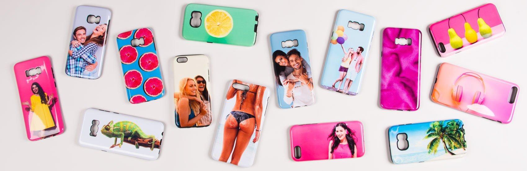 Handyhülle mit Foto für Samsung Galaxy und Apple iPhone Handies