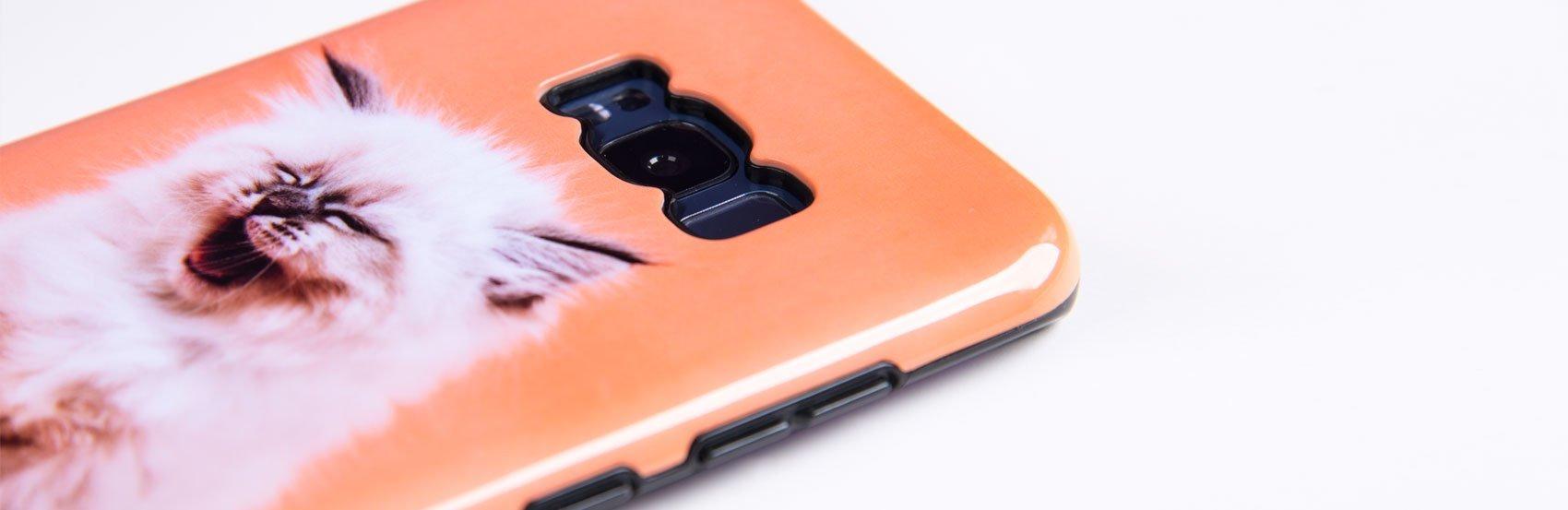 Handyhülle mit Foto für Samsung Galaxy S8